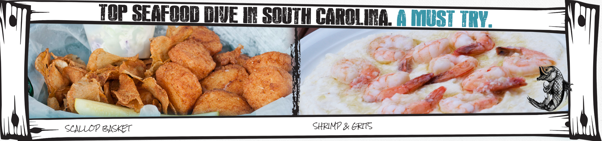 Best Seafood Dive In South Carolina